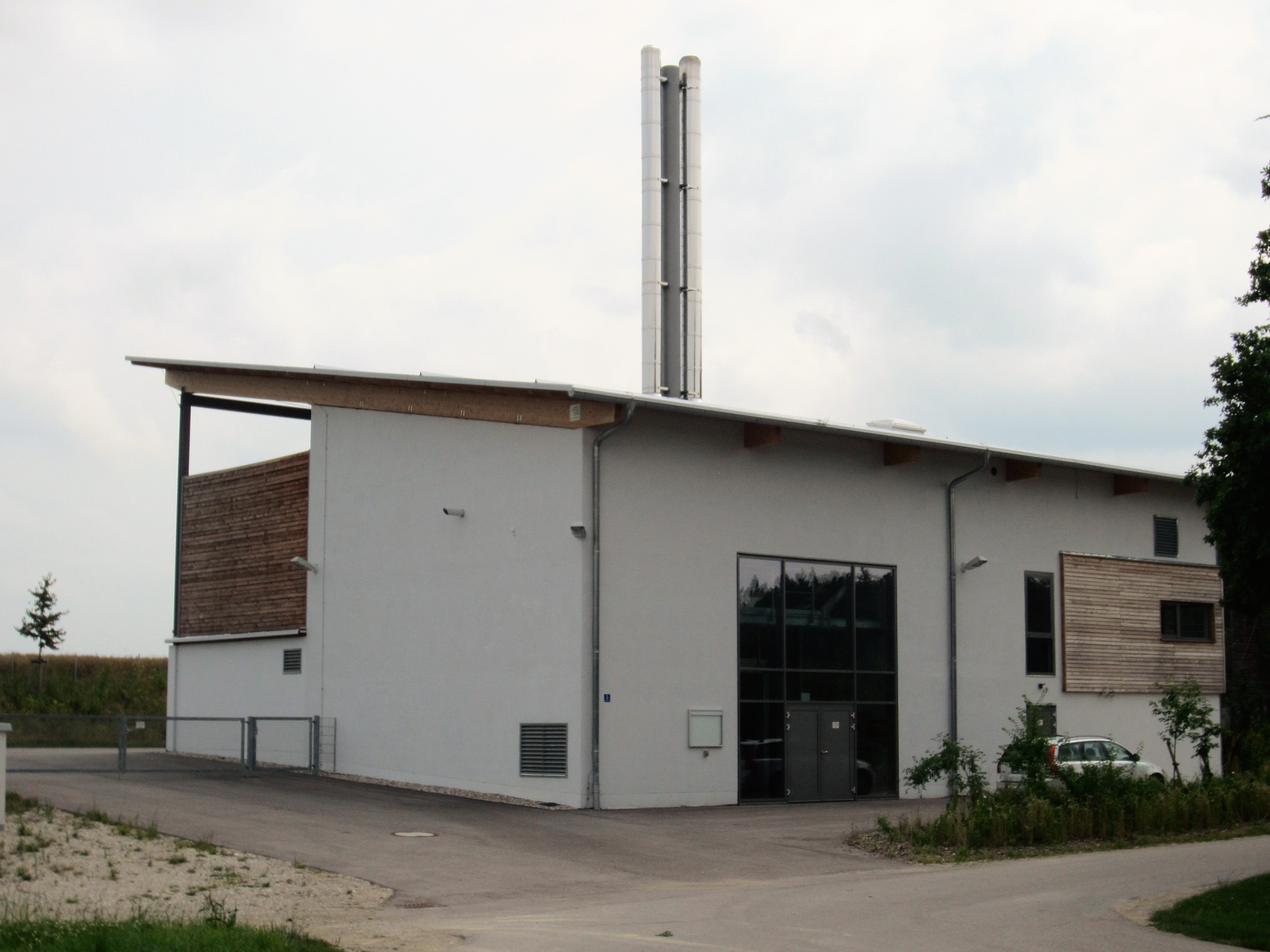 Biomass heating plant Engelsberg - energy consulting Engelsberg