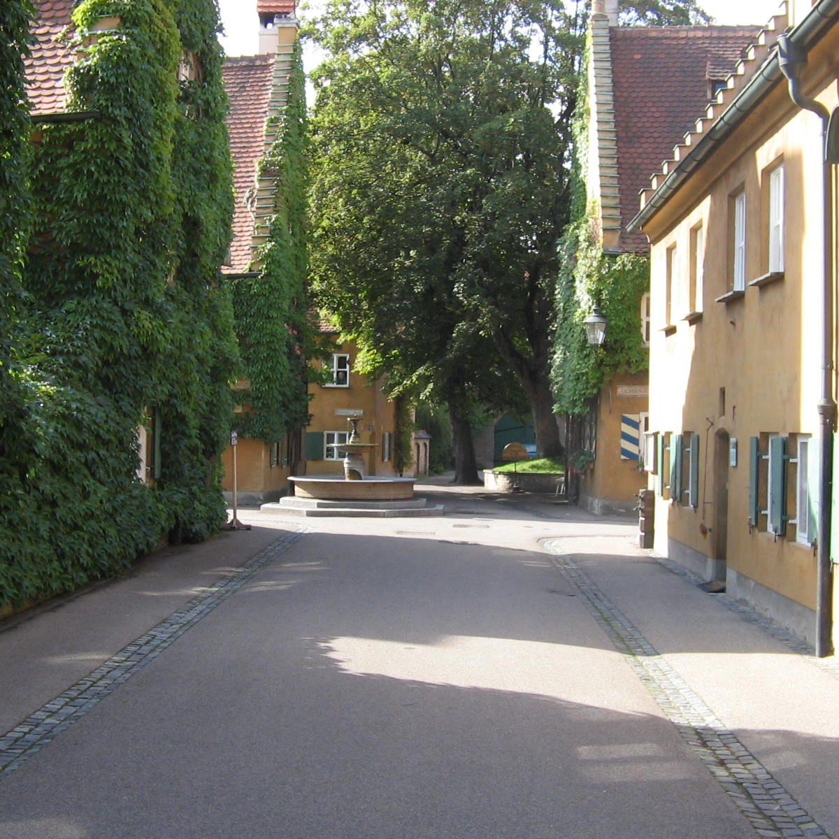 Fuggerei in Augsburg - Energy consulting Augsburg