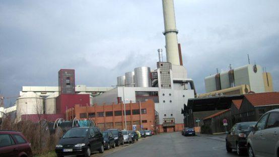 Biomasse-Heizkraftwerk Nürnberg