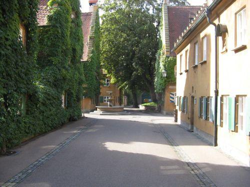 Fuggerei in Augsburg - Energieberatung Augsburg