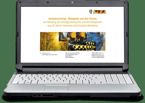 Präsentation 20 Jahre Energieberatung - eta Energieberatung