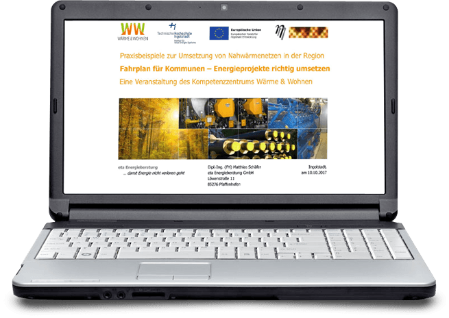 Fahrplan für Kommunen - Energieberatung Industrie - eta-Vorträge
