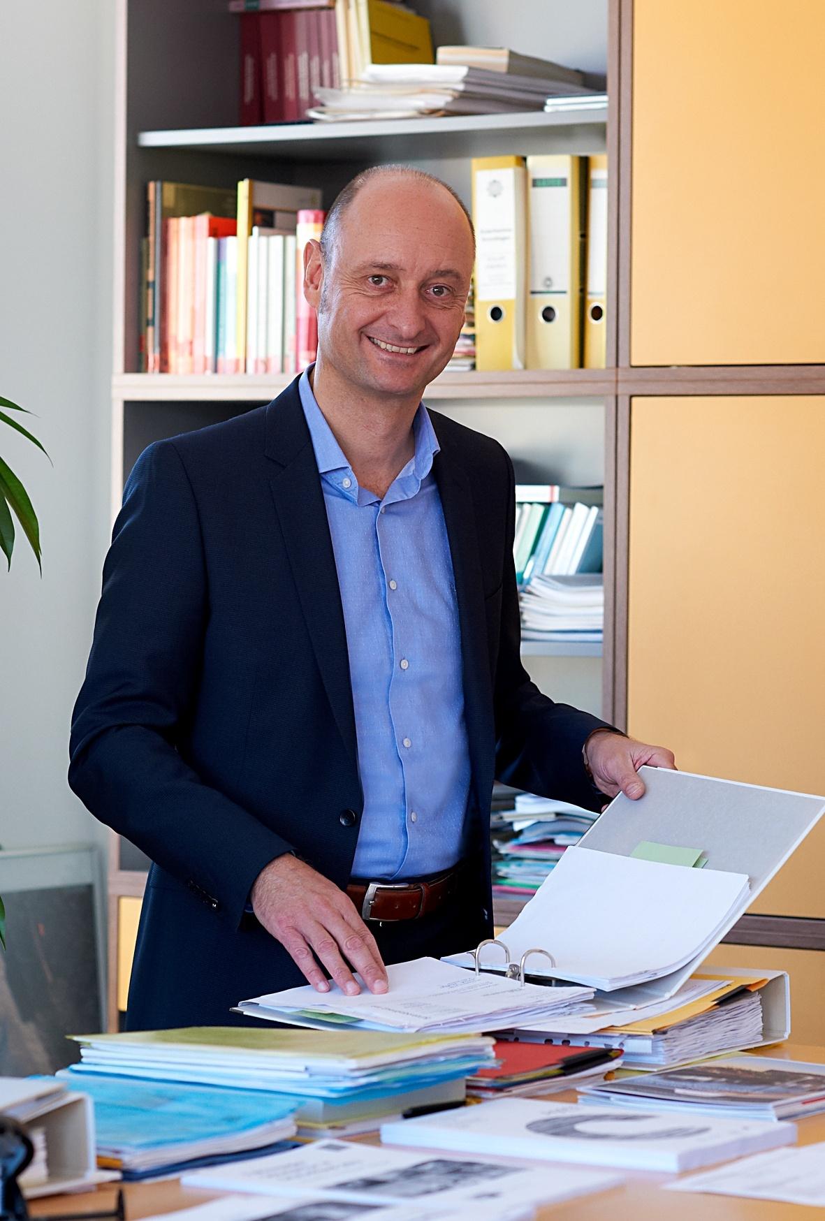 Bereichsleiter Olaf Barck