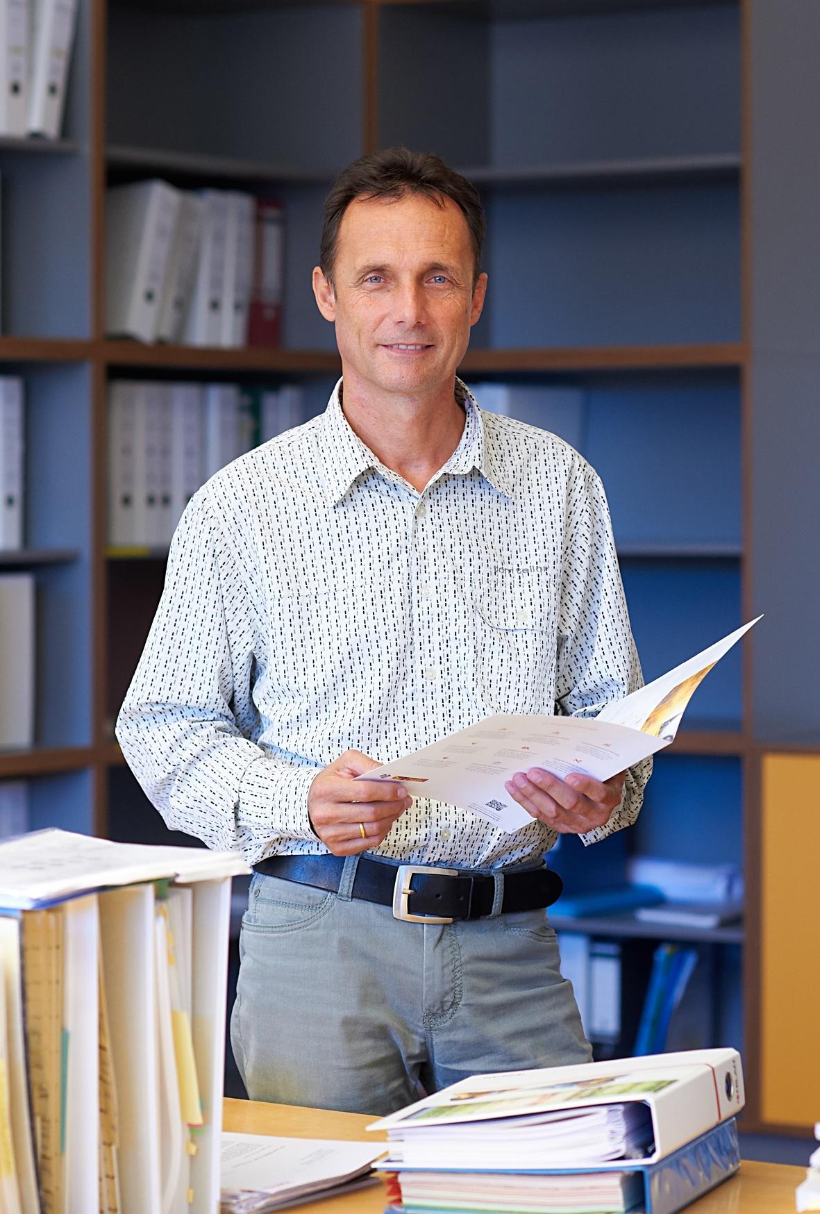 Bereichsleiter Herr Hellriegel Strategie und Marketing - eta Energieberatung