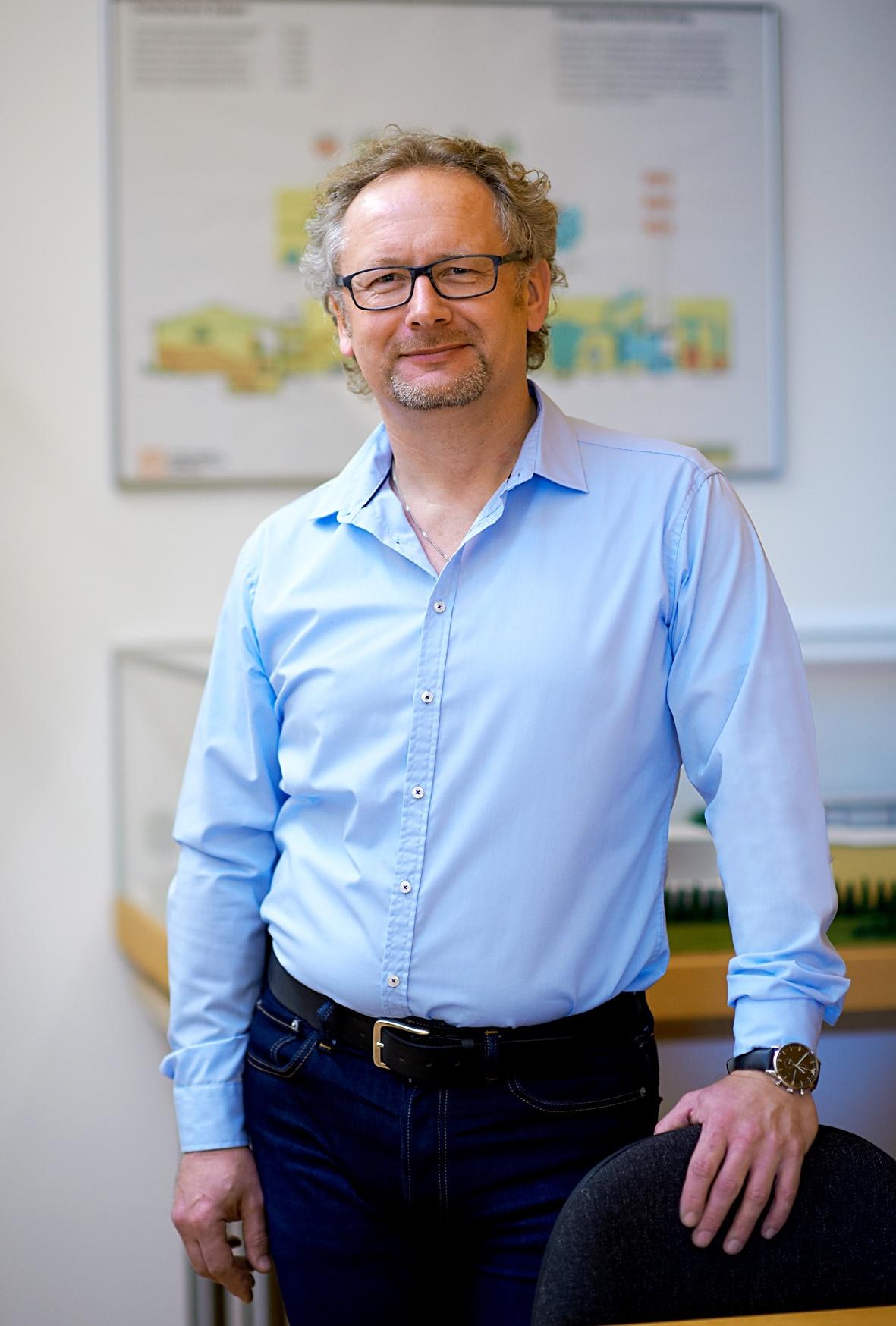 Bereichsleiter Andreas Reichel