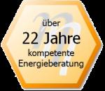 22 Jahre kompetente Energieberatung