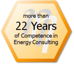 Saving Energy Costs - 22 Years Competence in Energy Consulting