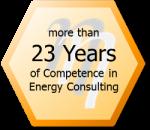 23 Years Competence in Energy Consulting - eta Energieberatung