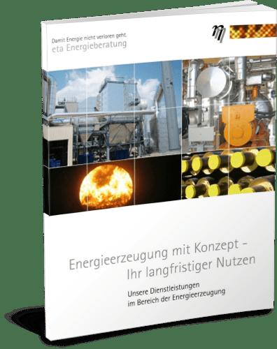 Broschüre Energieerzeugung mit Konzept - eta Energieberatung