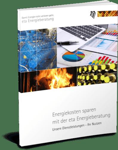 Deckblatt Broschüre Unser Unternehmen - eta Energieberatung