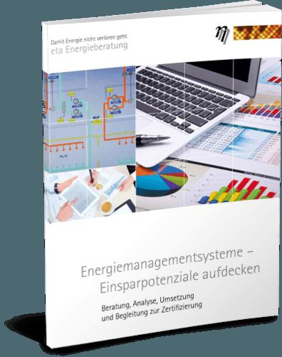 Deckblatt Broschüre Energiemanagementsysteme - eta Energieberatung