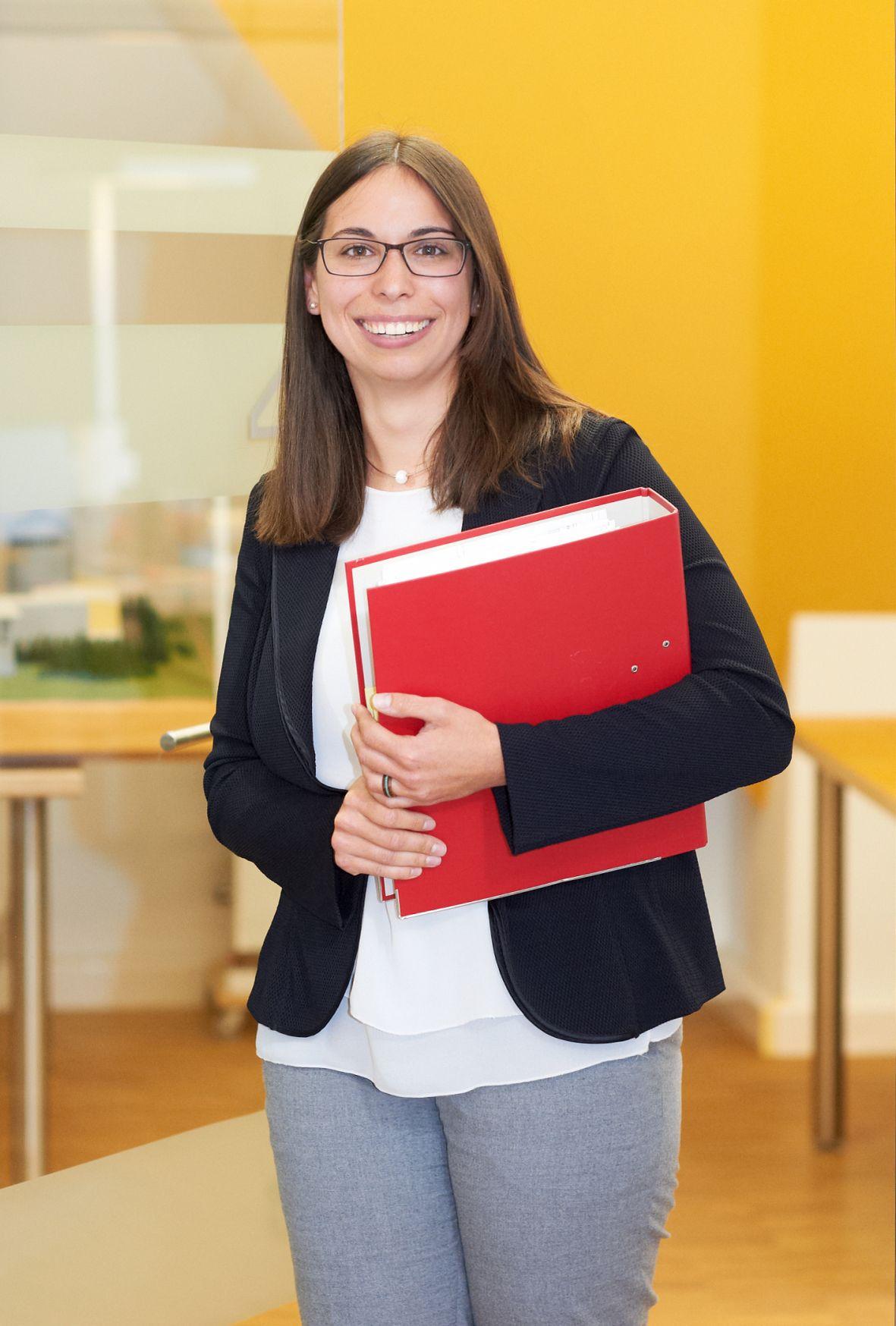 eta-Expertin Frau Kaschubek - eta Energieberatung
