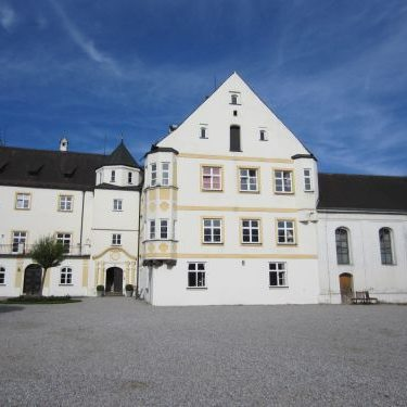 Biomasse-Heizwerk auf Schloss Lauterbach