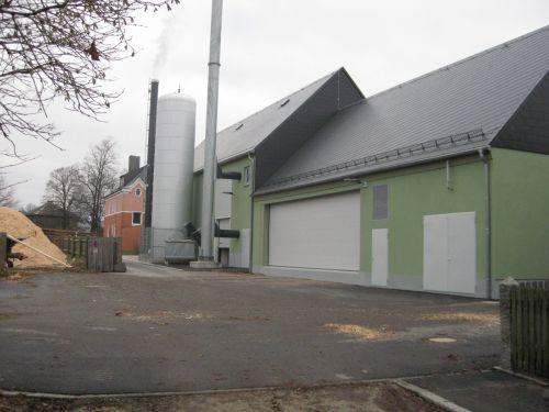 Referenzen Biomasse-Anlagen - Fernwärmeversorgung Weißenstadt - Energieberatung Weißenstadt