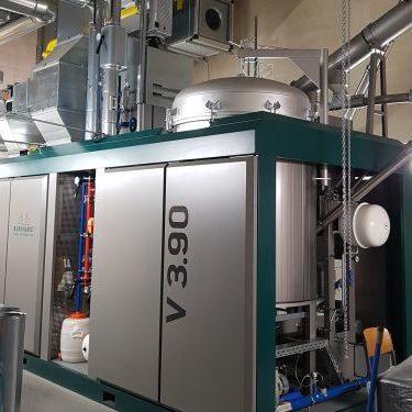 Wärmeverbund Baiersdorf Holzvergaser - eta Energieberatung