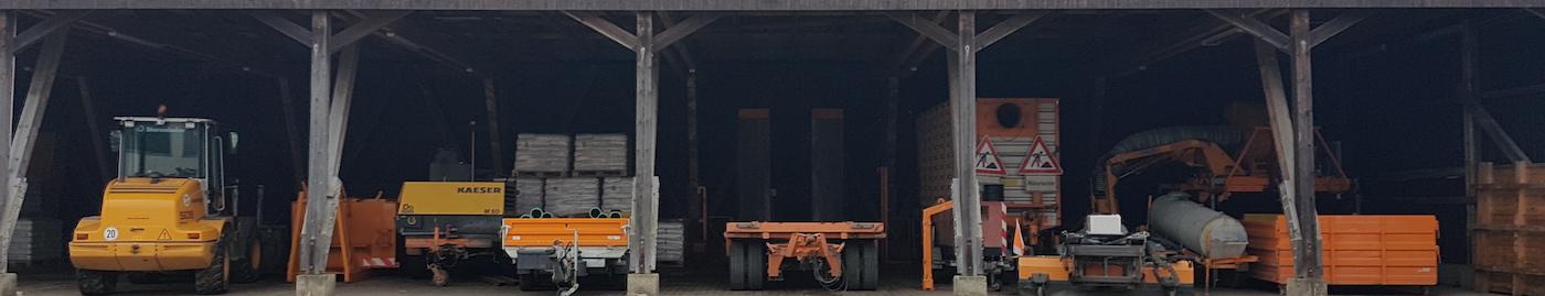 Biomasseheizwerk in Energiecontainer - Nahwärmeversorgung Bauhof Neuses