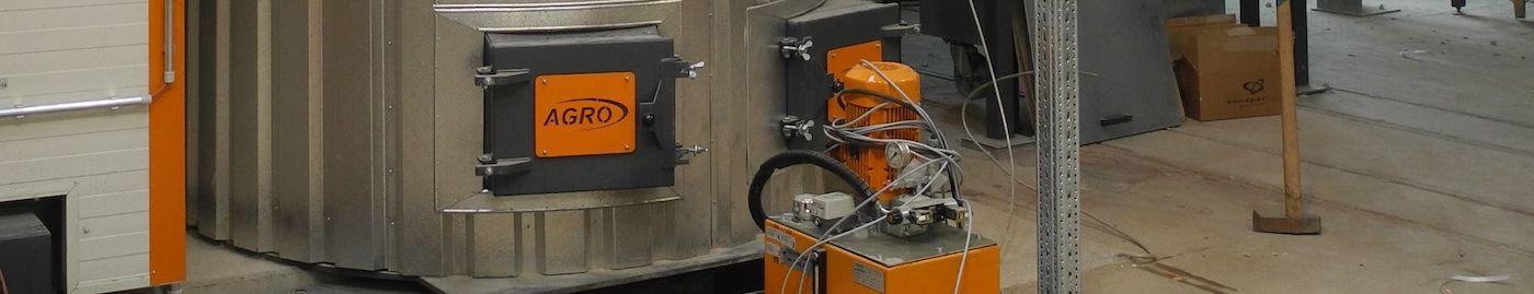 Biomassekessel mit RGR