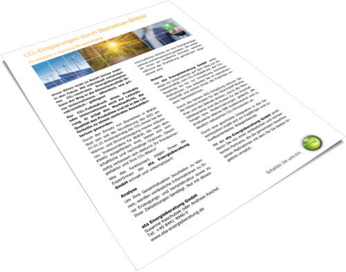 Produktblatt Biomethan-BHKW